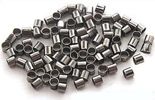 Quetschröhrchen 2mm schwarz