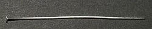 Headpins (Kettelstifte) silberfarben ca. 5cm 25Stk