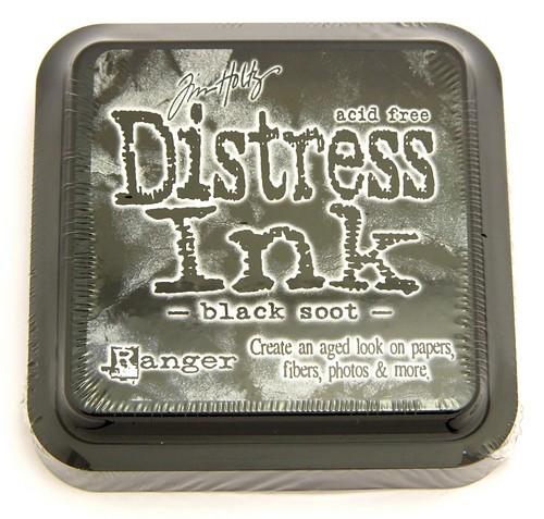 Ranger Distress Ink Black Soot 75 x 75 mm 1Stk