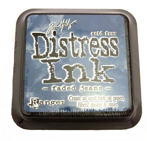 Ranger Distress Ink Faded Jeans 75 x 75 mm 1Stk