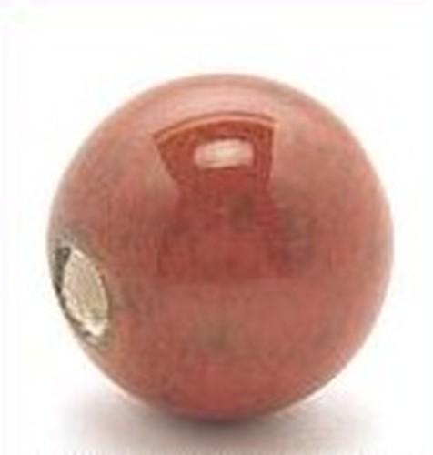 Keramikperle Pasipo ca. 18mm vogelei rot