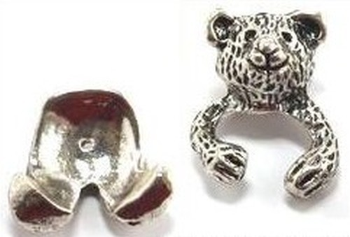Funkelteddy Toddel für Perlen von ca. 17 - 20mm Größe