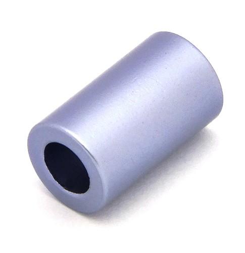 Loxalu® Beads Röhrchen ca. 10 x 6mm fliederblau