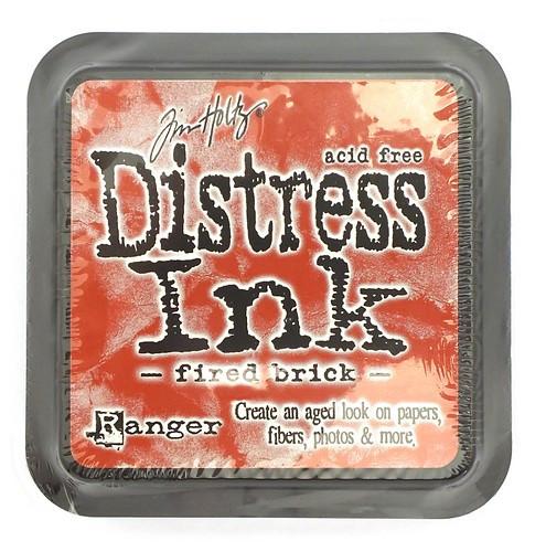 Ranger Distress Ink Fired Brick 75 x 75 mm 1Stk