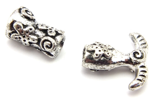 Meerjungfrauen Perlenset silberfarben 1Stk