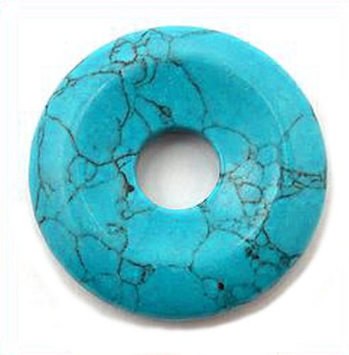 Türkis Donut ca. 40 x 40mm 1Stk