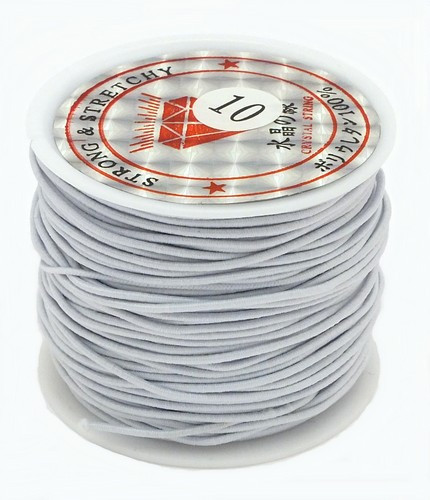 Elastikband Nylon ca. 1mm weiss 23m 1Stk