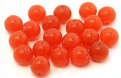 Glaskugeln ca. 6mm orange 20Stk