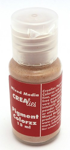 Crealies Pigment Middle Brown15ml 1Stk