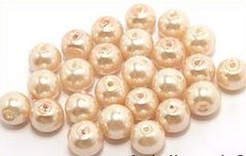 Renaissance-/Barockperlen ca. 8mm #24 peach-pearl