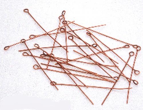 Eyepins (Ösenstifte) kupferfarben ca. 5cm
