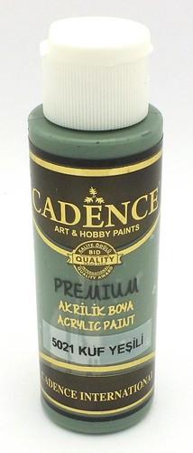 Cadence Acrylfarbe Premium mould green dunkel 70ml