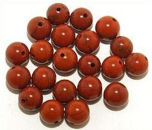 Roter Jaspis Kugeln ca. 6mm 20Stk