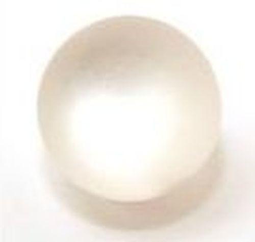 Polar-Perle MATT ca. 17mm #10 weiß 1Stk