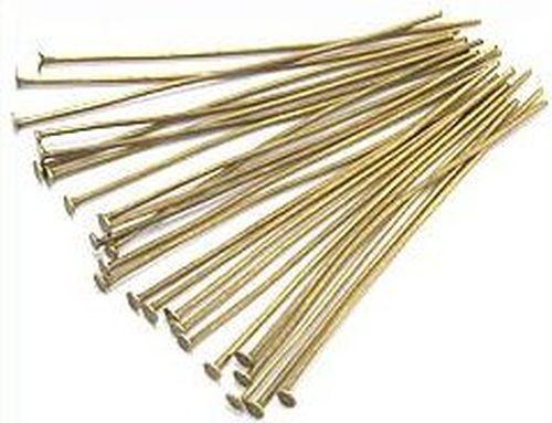 Headpins (Kettelstifte) antikfarben ca. 5cm 25Stk