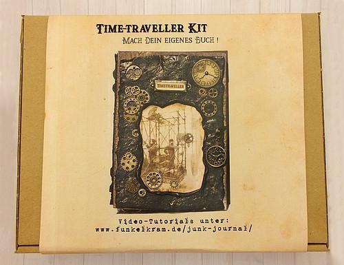 Junk Journal Time-Traveller Kit Bastelset