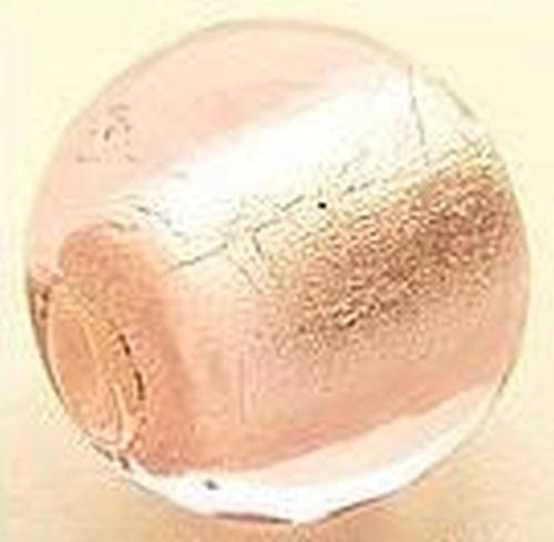 Silverfoil-Kugel, rosa #14, ca. 20mm