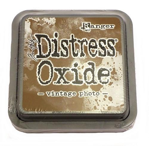 Ranger Distress Oxide Vintage Photo 75 x 75 mm 1Stk