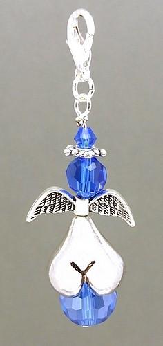 Glamour Arschengel®-Anhänger blau
