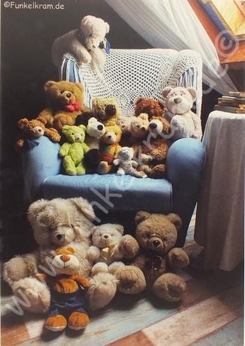 """Teddykarte """"Teddybande"""""""