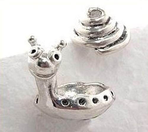 Bummelschnecke für ca. 12-14 mm große Perlen