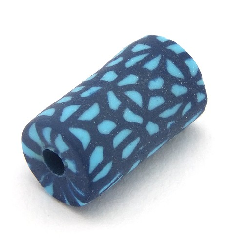 Blütenwalze Blue Rain ca. 11 x 6mm 1Stk