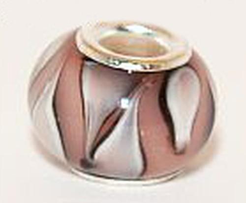 Wechselperle R4 ca. 13-15mm rosa 1Stk