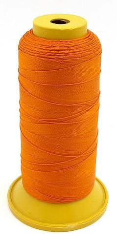 Häkelgarn orange ca. 0,2mm 450m