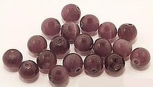 Cateyekugeln ca. 6mm (Nr. dx10) lila