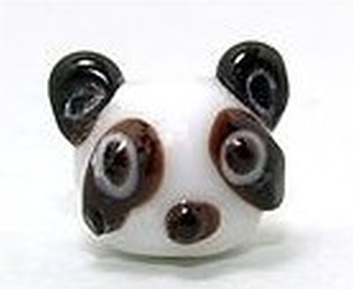 Lampworkperle Panda ca. 11mm