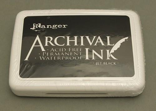 Ranger Archival Ink schwarz 97 x 67 mm 1Stk