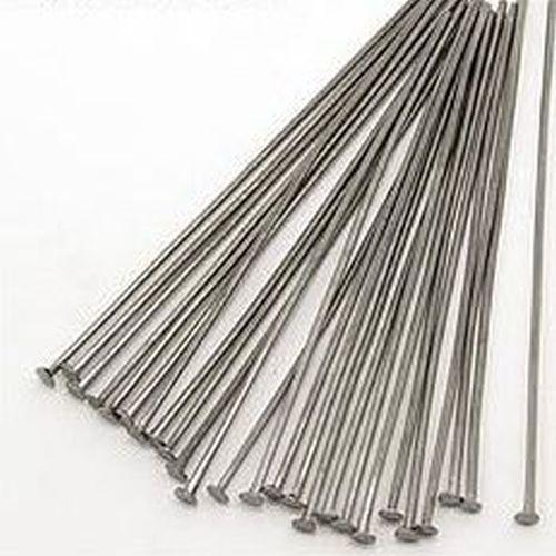 Headpins (Kettelstifte) schwarz ca. 5cm