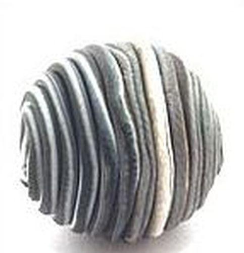 Papillon-Perle Wrappy ca. 14mm schwarz