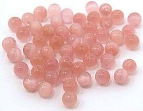 Cateyekugeln ca. 4mm (Nr. dx30) rosa