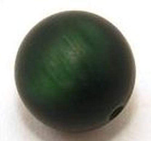 Polar-Perle MATT ca. 20mm #20 dunkelgrün