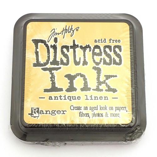 Ranger Distress Ink Antique Linen 75 x 75 mm 1Stk