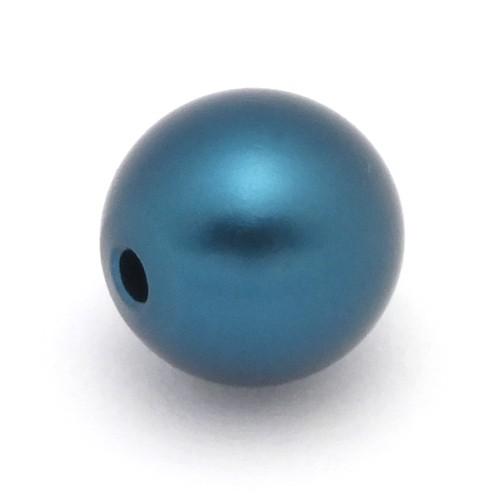 Loxalu® Beads Kugel ca. 10mm ozeanblau 1Stk