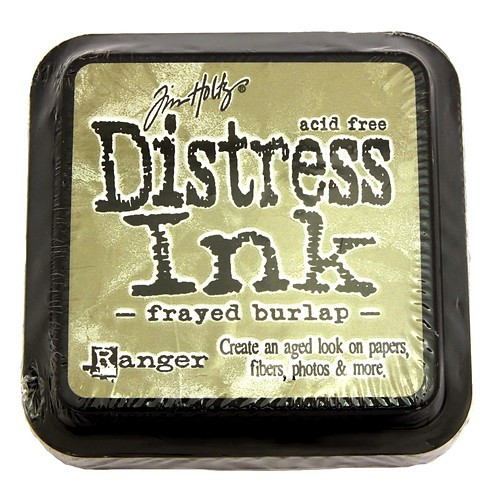 Ranger Distress Ink Frayed Burlap 75 x 75 mm 1Stk