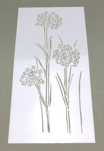 Schablone Pusteblume ca. 12 x 23 cm