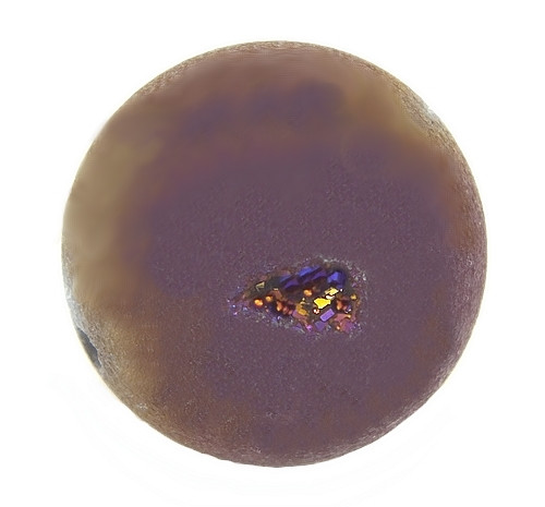 Drusen-Perle Purple ca. 16mm beere 1Stk