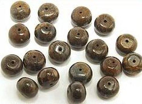 Bronzitrondelle ca.10 mm 20Stk
