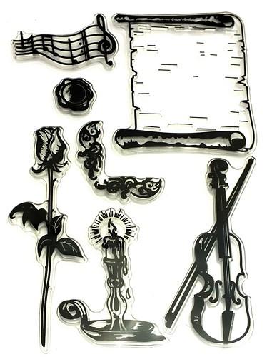 Stempel-Set Sherlock ca. 11 x 16 cm 1Stk