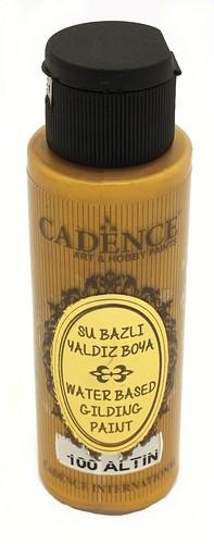 Cadence Metallic Acrylfarbe Gold 70ml