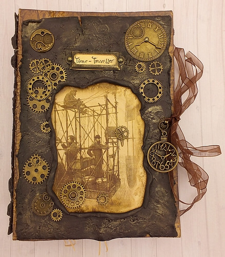 JunkJournal Time-Traveller Kit Bastelset 1Stk
