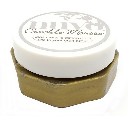 nuvo Crackle Mousse Egyptian Gold 62,5g 1Stk