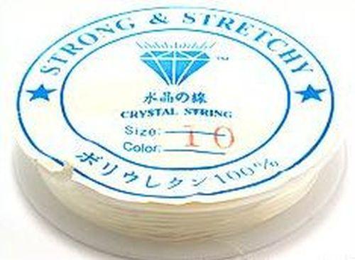 Stretchmagic / Elastikband ca. 1,0mm transparent 5m