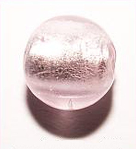Silverfoil-Perlen, rosa ( Nr. 14 ) 8mm