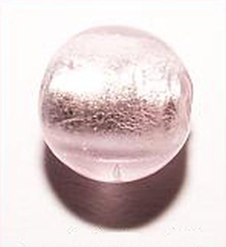 Silverfoil-Perlen, rosa ( Nr. 14 ) 8mm 20Stk