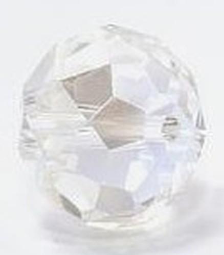 Glasschliff-Rondell ca. 13 x 18mm crystal GROSS 1Stk