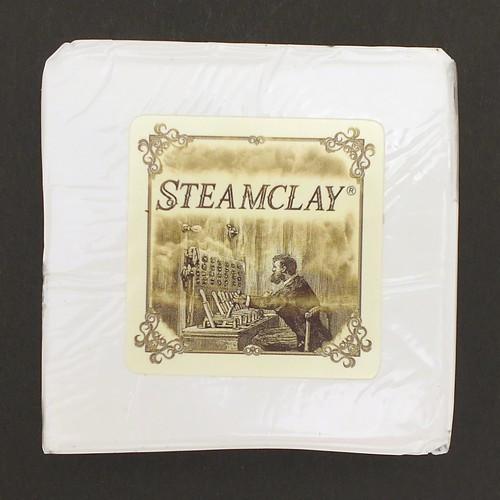 Steamclay® - ofenhärtende Modelliermasse weiß ca.80g 1Stk